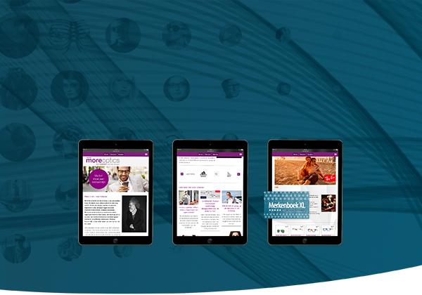 Oprindeligt Altijd actuele content op je website, webshop en winkelscherm LM03